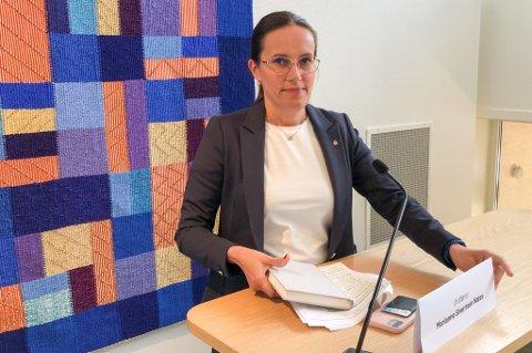 ØKT SMITTE: Ordfører Marianne Sivertsen Næss kunne søndag melde om økt smitte av den engelske muterte varianten i Hammerfest. Foto: Trond Ivar Lunga