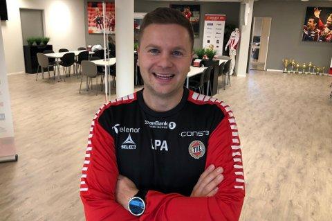 JAKTER NYE SPILLERE: Team Manager Lars Petter Andressen varsler at TIL jakter flere spillere før overgangsvinduet stenger. Her fra en tidligere anledning.