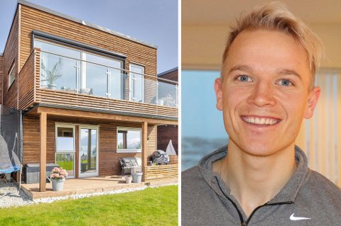 SOLGT: Huseier Christer Johnsgård er fornøyd med prisen han fikk for boligen på Strand.