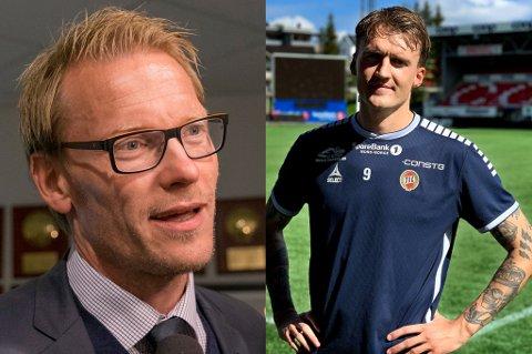 KRITISK: Ole Martin Årst satte spørsmålstegn ved seriøsiteten til Runar Espejord direkte på TV2, knyttet til spissens mange skader. Det liker 25-åringen dårlig.