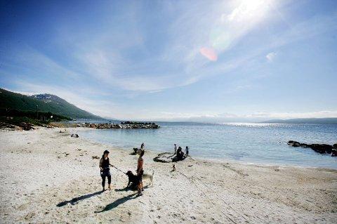 SOL OG VARME: Endelig kommer sommervarmen til Tromsø.