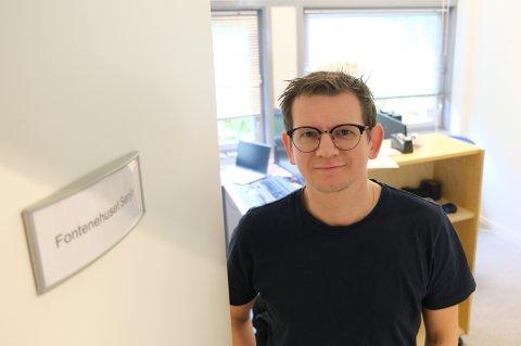 NY VERDEN: Anders Berntsen sier han går til den nye jobben på Fontenehuset Senja med ærefrykt og en ambisjon om å skape et bedre liv for folk.