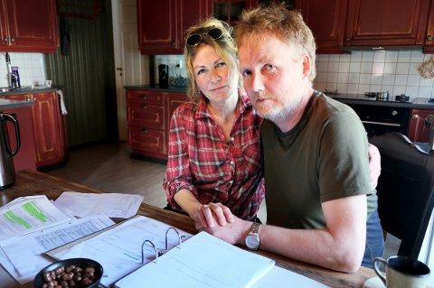 SKUFFET: NAV har innsett feilen de la til grunn om  samboerskapet til Ranveig og Roy Falck Bergum, men har fortsatt å kreve inn penger på det feilaktige grunnlaget.