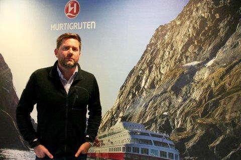 Adm.dir i Hurtigruten, Daniel Skjeldam.