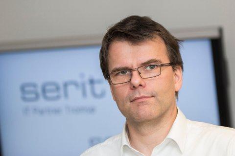 Daglig leder av Serit IT-Partner Tromsø, Svenn A. Hanssen. Foto
