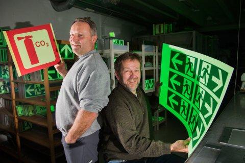 SUKSESS: Prolink gikk konkurs i 2002. Bjørn Pedersen, Frank Høyen og de andre nye eierne har bygget selskapet opp til å bli en suksessbedrift.