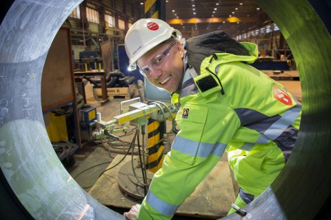 GRÜNDER: Wiggo Dalmo begynte med en pickup og en verktøykasse. Nå har han grunnlagt en rekke selskaper som til sammen omsetter for 600 millioner kroner og sysselsetter 400 personer.