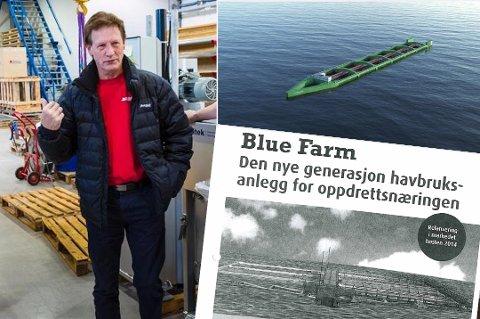 Asbjørn Larsen mener konseptet fra Nordlaks (øverst) ligner svært på hans oppfinnelse under.