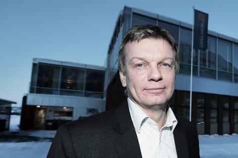 VIL SELGE: Troms Kraft-sjef Semming Semmingsen.