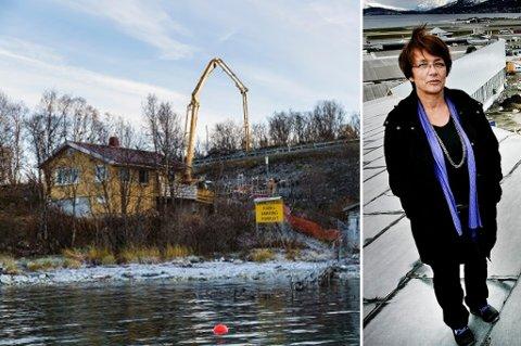 Vannledningen over Tromsøysundet har hatt en budsjettsprekk på over 33 millioner. Byråd for byutvikling Britt Hege Alvarstein sier det er usikkert hvor stor andel av dette kommunen må betale.