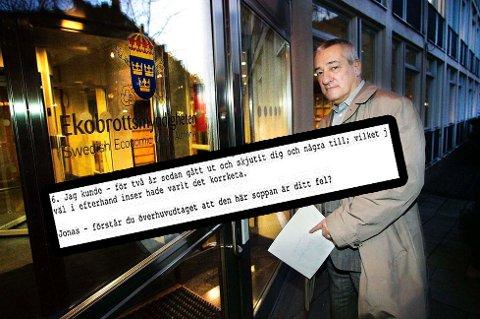 Boris Benulic. Foto: Torgrim Raqth Olsen/skjermdump beslaglagt mail