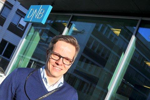 FOR PENGFOLK: Nils Petter Hansen skal lede DNBs nysatsning i nord. Men tjenesten han tilbyr, er kun egnet for dem som har fem millioner kroner stående i frie midler. Foto: Magnus Aamo Holte