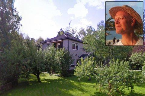 Huset som skal ha blitt ombygd. Foto: Skjermdump