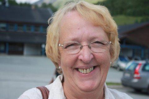 NED PÅ JORDA: Mens ordfører i Lyngen, Sølvi Jensen, mener fjellene i kommunen bør være uberørte.