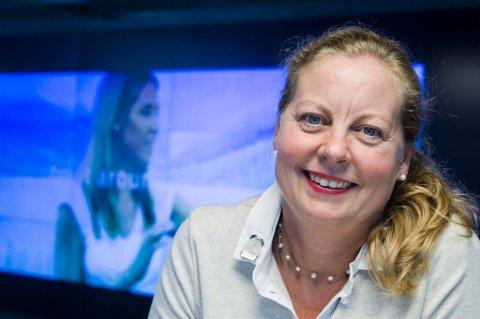TELENOR-TOPP: Berit Svendsen er sjef for 4000 ansatte i Telenor Norge. Foto: Berit Roald / NTB Scanpix