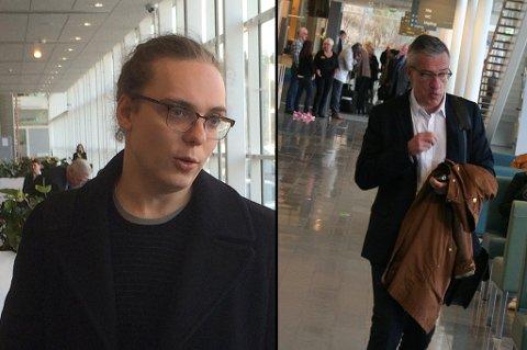 Martin Eriksson og Boris Benulic. Foto: Rune Endresen