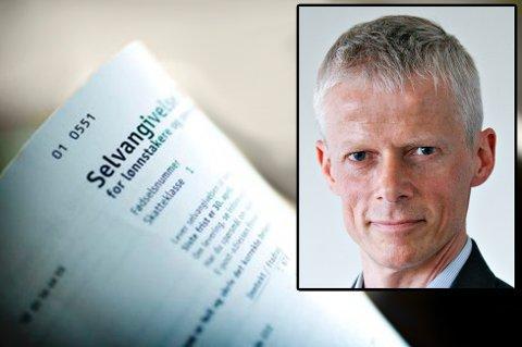 FØLGER MED: Skattedirektør Hans Christian Holthe varsler at de som leier ut eller har solgt bolig vil bli sjekket ekstra nøye i år.