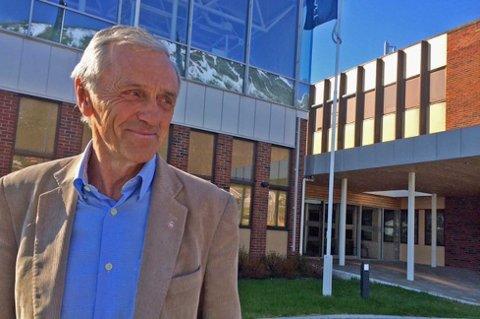 Styreleder Inge K. Hansen i Troms Kraft. Foto: Rune Endresen