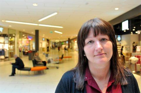 SENTERLEDER: Laila Myrvang på Jekta.