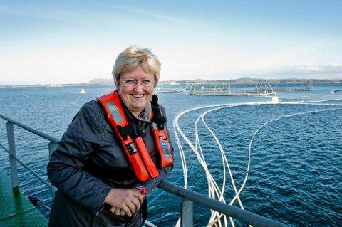 Fiskeriminister Elisabeth Aspaker (H). Foto: Marit Hommedal, NTB Scanpix