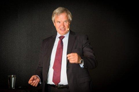 Norwegian-direktør Bjørn Kjos på Flow.
