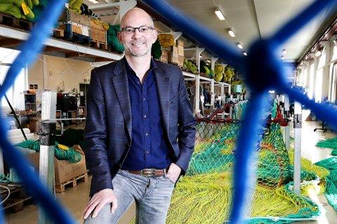 Torgrim Rørtveit, administrerende direktør og eier i Nofi. Foto: Torgrim Rath Olsen