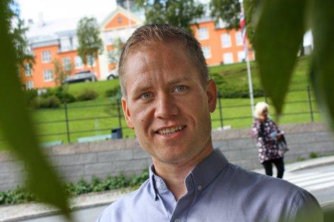 Børge Robertsen er ny daglig leder i Olivita as. Foto: Rune Endresen
