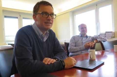 Milliardærene Roger og Kristian Adolfsen eier landets største gruppe med private asylmottak. (Foto: Niels Ruben Ravnaas, Nettavisen/ANB)