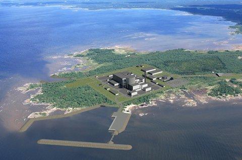 Her, like sør for Oulu, bygger Fennovoima det nye atomkraftverket.