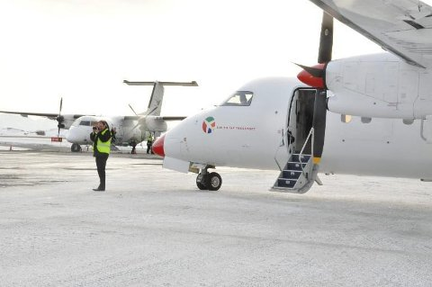 Widerøe og Danish Air Transport konkurerer om anbudene på FOT-rutene i Sør-NOrge (Foto: Gullik Maas Pedersen)