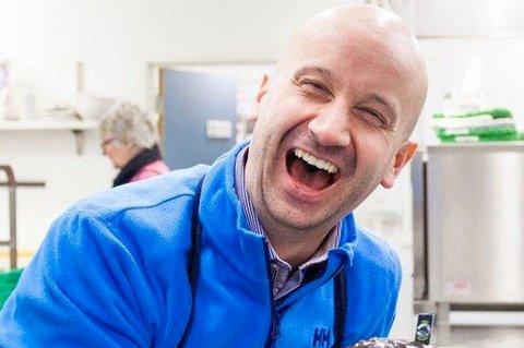 SLUTTER: Geir Bakkevoll slutter som kommunikasjonsdirektør i Norges Sjømatråd for å bli lærer i Lofoten.