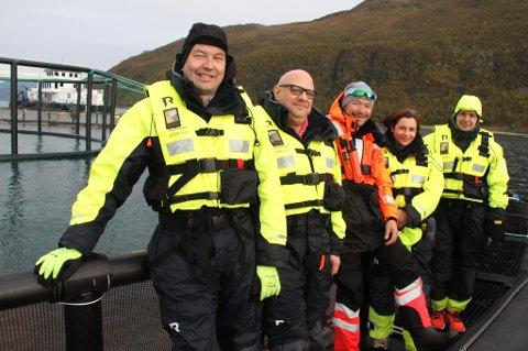 Kurt Einar Karlsen, Anders Lennartsson, Jan Børre Johansen, Jacqueline MacAllister og Hans Fredrik Pedersen