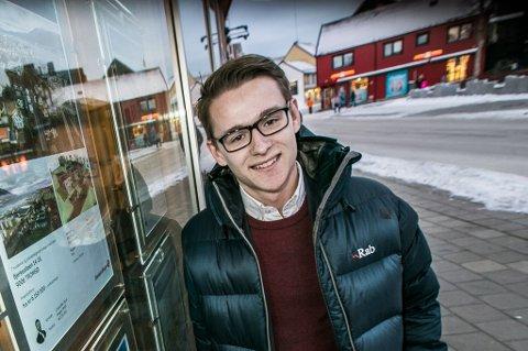 Michael Knutsen (24) skal lede Eiendomsmegler 1 sin nye satsing i Tromsø.