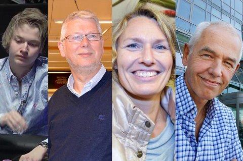 Ole-Kristian Nergård, Per Strand, Aino Olaisen, Tor Arne Viksjø.
