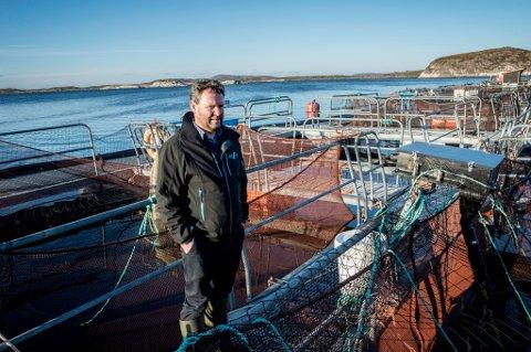 SJEF: Biologen Kristian Johnsen har vært sjef for havbruksstasjonen i 16 år.