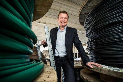 GIR UTBYTTE: Konsernsjef Semming Semmingsen i Troms Kraft.