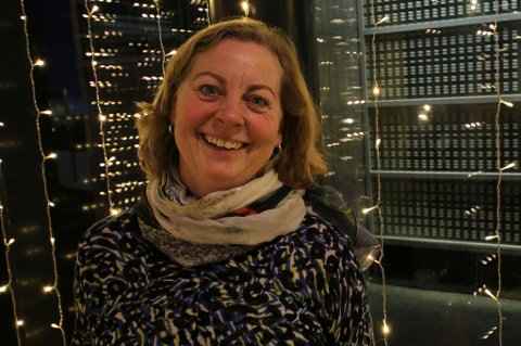 VIL FJERNE SKATT: Berit Svendsen, konserndirektør i Telenor, vil fjerne skattlegging av arbeidsmobil.