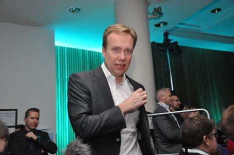 Utenriksminister Børge Brende. Agenda Nord-Norge 2016 i Alta. Foto: Oddgeir Isaksen