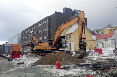 Veg og tunnelservice i arbeid på Storgatbakken. Nå mener KOFA selskapet burde vært avvist på et tilsvarende oppdrag ved Nansenplass.