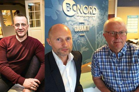 Lasse Jensen Aaris i Agio Forvaltning og konkurrenten Bonord ved Bård Fredheim og Svein Dalsbø.