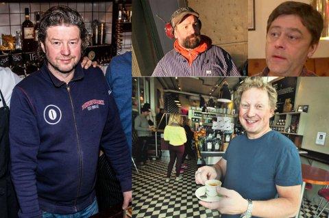 Pål E. Eilertsen, Peter W. Hammer, Anders Blomkvist og Bjørn Helberg.