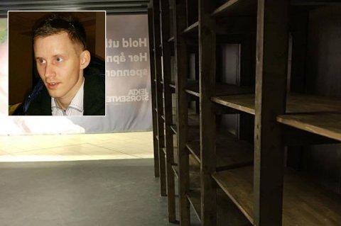 NY BUTIKK: Gulating åpner ny butikk på Jekta i Tromsø. Innfelt: Mads Hansen, ny daglig leder.