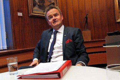 GLOBAL URO OG KONSEKVENSER: Jan-Frode Janson, konsernsjef i Sparebank1 Nord-Norge.