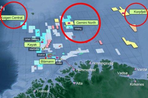 BORING: Statoil skal bore 30 brønner i år. 3 av 6 brønner med størst potensial ligger utenfor kysten av Nord-Norge.