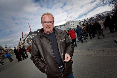 Fiskeriminister Per Sandberg har ikke møtt en eneste sutrende nordlending i sitt første år som fiskeriminister