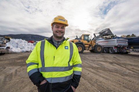 VELLYKKET: Anlegg Nord er utpekt til årets gassellebedrift i Finnmark av Dagens Næringsliv. Daglig leder Christian Oskarsson mener de fire Alte-entreprenørene måtte slå seg sammen for å kunne konkurrere om store anbud.