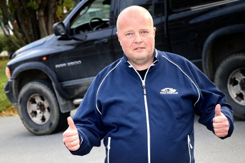 SLIPPER SKATT: Rune Madsen i Roald Madsen AS kan slippe millionskatt på maskiner. Det betyr mye.