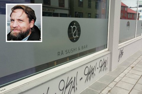 BEGJÆRT KONKURS: For sein innbetaling av mva-avgift førte til at Skatt Nord har begjært Rå Sushi Tromsø AS konkurs. Innfelt daglig leder Henrik Rønholdt.