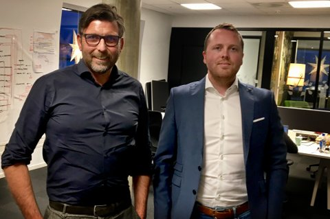 NYE KOMPANJONGER: Frode Danielsen i BDO Tromsø får Kim-Are Remhaug Dønland og Regnskap Nord-Norge på laget.