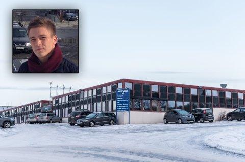 SOLGT: Alkevegn 14 i Tromsø. Innfelt: Andreas Arild, daglig leder i JM Hansen Eiendom as.